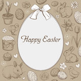 Easter holiday background vector Stock Photography