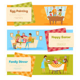 Easter Holiday Banners Set Stock Image