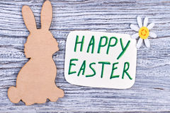 Easter holiday card. Stock Images