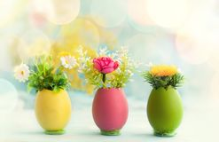 Easter holiday concept Royalty Free Stock Photos