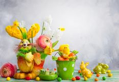 Easter holiday decoration Royalty Free Stock Photography