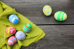 Easter. In easter holiday,easter eggs Royalty Free Stock Photo