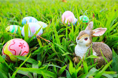 Easter. In easter holiday,easter eggs,easter bunny Royalty Free Stock Photo