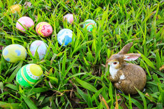 Easter. In easter holiday,easter eggs,easter bunny Royalty Free Stock Image