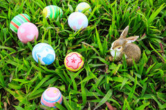 Easter. In easter holiday,easter eggs,easter bunny Royalty Free Stock Photos
