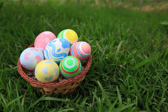 Easter. In easter holiday,easter eggs,painting Royalty Free Stock Images