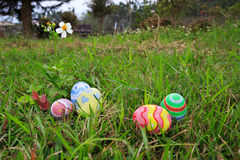 Easter. In easter holiday,easter eggs,painting Royalty Free Stock Photography
