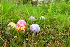 Easter. In easter holiday,easter eggs,painting Royalty Free Stock Photo