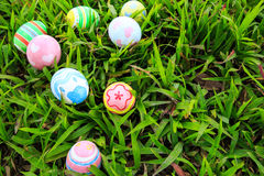 Easter. In easter holiday,easter eggs,painting Stock Images