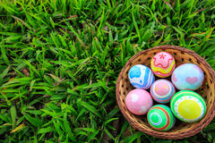 Easter. In easter holiday,easter eggs,painting Royalty Free Stock Photos