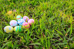 Easter. In easter holiday,easter eggs,painting Stock Photography