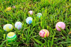 Easter. In easter holiday,easter eggs,painting Stock Photo