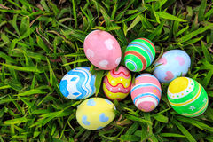 Easter. In easter holiday,easter eggs,painting Royalty Free Stock Image
