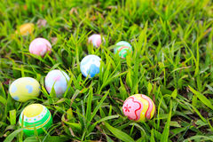 Easter. In easter holiday,easter eggs,painting Stock Image