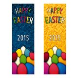 Easter holiday flyer Royalty Free Stock Image