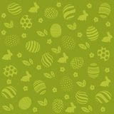 Easter holiday green background Royalty Free Stock Image