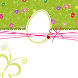 Easter holiday greeting card Stock Photo
