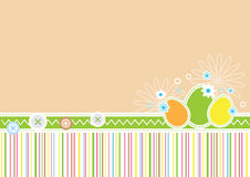 Easter holiday greeting card Stock Images