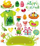 Easter holiday set Royalty Free Stock Photos