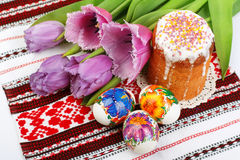 Easter holiday still-life Stock Images