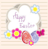 Easter holiday vector background Stock Photo