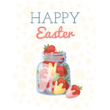 Easter holiday vector illustration Royalty Free Stock Photography