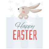 Easter holiday vector illustration Royalty Free Stock Images