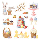 Easter holiday vector illustration Royalty Free Stock Photo