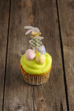 Easter homemade cupcake Stock Images