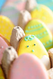 Easter homemade gingerbread cookie Royalty Free Stock Photography