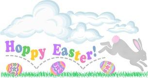 Easter Hoppy ilustração stock