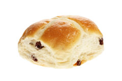Easter hot cross bun Royalty Free Stock Photos