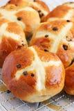 Easter hot cross buns Stock Image