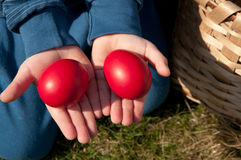 Easter hunt Royalty Free Stock Images