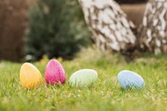 Easter hunt Stock Image