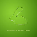 Easter Icon Rabbit Royalty Free Stock Image