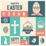 Easter Icon Set Royalty Free Stock Photos