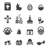 Easter icon set. Web icon illustration design vector sign symbol Royalty Free Stock Photos