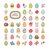 Easter icons Stock Photos