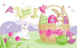 Easter illustration Stock Photo