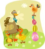 Easter illustration Stock Photos
