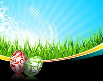Easter illustration Stock Images