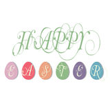 Easter illustration greetings illustration Royalty Free Stock Photography