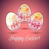Easter illustration Royalty Free Stock Image