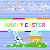 Easter illustration for your design Royalty Free Stock Photography