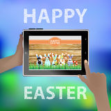 Easter . Illustration for your design Royalty Free Stock Image