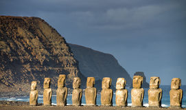 Easter island Stock Image