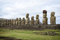 Easter Island, Chile Royalty Free Stock Photos