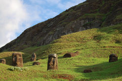 Easter Island - Chile Stock Image