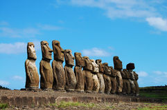 Easter Island - Chile Royalty Free Stock Images